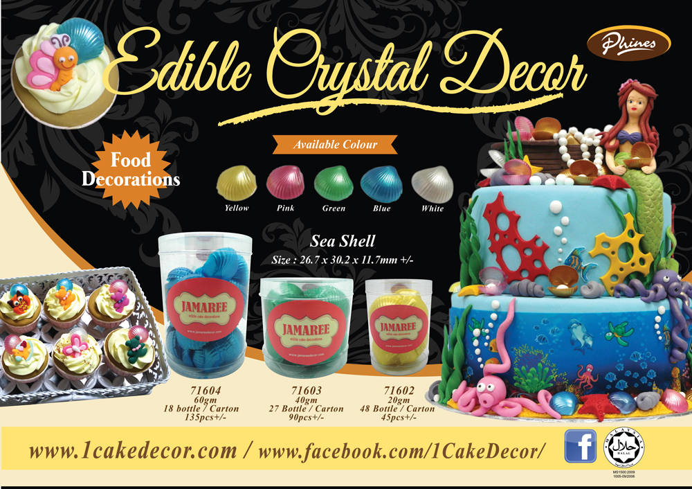 Edible Crystal Decor
