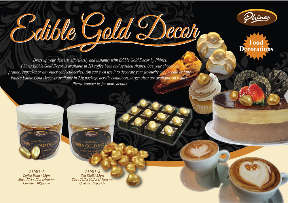 Edible Gold Decor