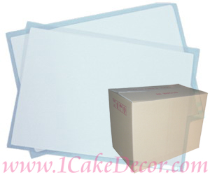 Icing Sheets<br>24 Bxs / Carton<br>195 x 285mm