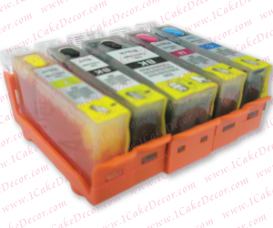 Edible Refillable Color Cartridge Set