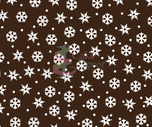 Snowflakes <br>White <br> 25 Sheets/Box