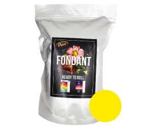 Yellow Fondant <br> 350gm